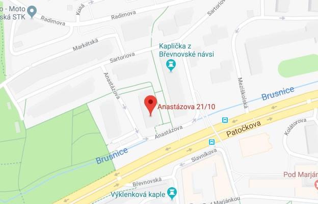 Anastázova 21/10, 169 00 Praha 6-Břevnov